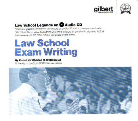 Law School Exam Writing (Law School Legends Audio Series)