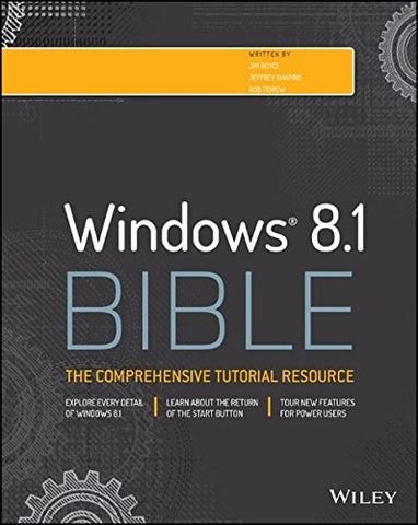 Windows 8.1 Bible