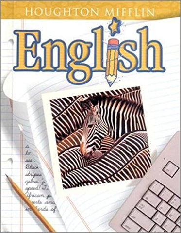 Houghton Mifflin English: Student Edition Hardcover Level 5 2001