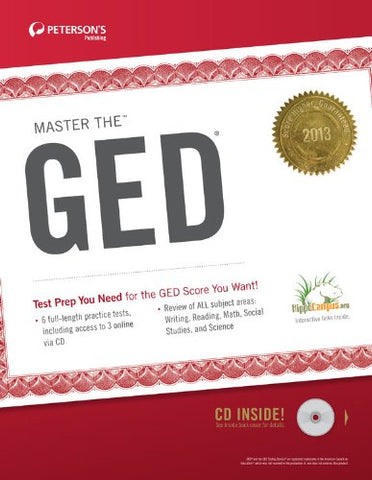 Peterson'S Master The Ged 2013 (Peterson'S Master The Ged (W/Cd))