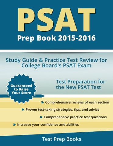 Psat Prep Book 2015-2016: Study Guide And Practice Test Review For College Board'S Psat Exam