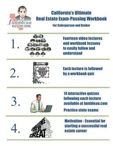California'S Ultimate Real Estate Exam-Passing Workbook: For Salesperson And Broker