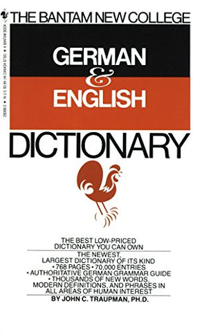 The Bantam New College German & English Dictionary (English And German Edition)