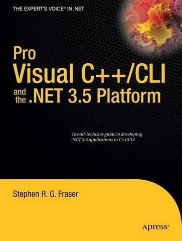 Pro Visual C++/Cli And The .Net 3.5 Platform (Books For Professionals By Professionals)