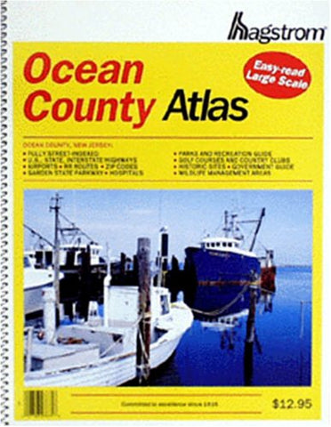 Hagstrom Ocean County Atlas: Large Scale Edition