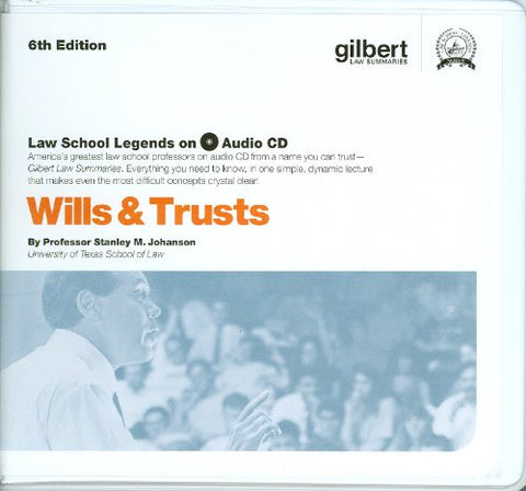 Wills And Trusts (Law School Legends Audio Series)