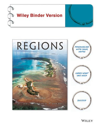 Geography: Realms, Regions, And Concepts 16E Binder Ready Version + Wileyplus Registration Card