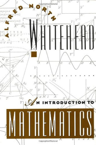 An Introduction To Mathematics (Galaxy Books)