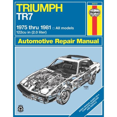 Triumph Tr7, 1975-81 (Haynes Repair Manuals)
