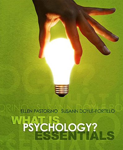 Cengage Advantage Books: What Is Psychology? Essentials