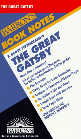 F. Scott Fitzgerald'S The Great Gatsby (Barron'S Book Notes)