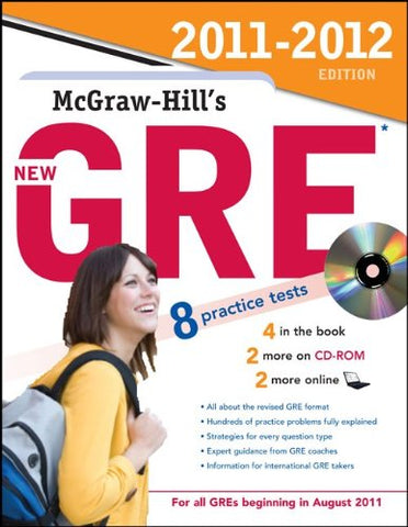 Mcgraw-Hill'S New Gre With Cd-Rom, 2011-2012 Edition (Mcgraw-Hill'S Gre (W/Cd))