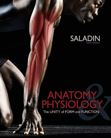 Solve Saladin: Anatomy & Physiology Crossword Puzzles T/A Anatomy & Physiology: The Unity Of Form And Function, 6Th Edition