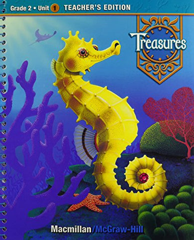 Treasures, A Reading/Language Arts Program, Grade 2, Unit 1 Teacher Edition (Elementary Reading Treasures)