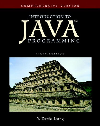 Introduction To Java Programming-Comprehensive Version (6Th Edition) (Goal Series)