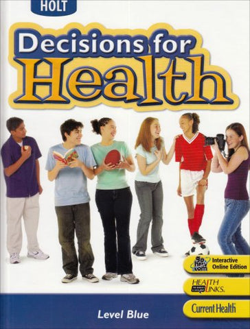 Decisions For Health, Level Blue