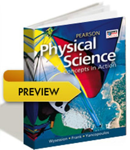 High School Physical Science 2011 Earth And Space Student Edition (Hardcover) Grade 9/10