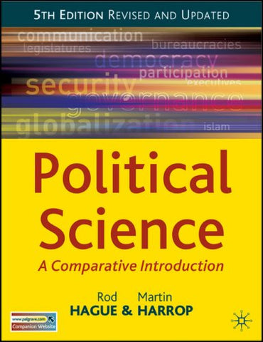 Political Science, Fifth Edition (Comparative Government And Politics)