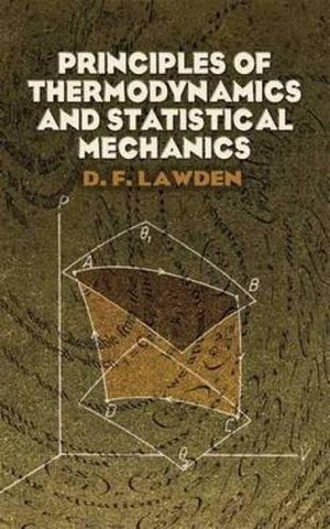 Principles Of Thermodynamics And Statistical Mechanics (Dover Books On Physics)