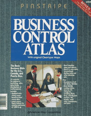 Business Control Atlas: With Original Cleartype Maps.