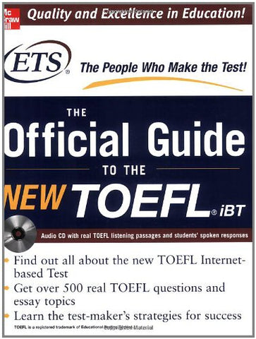 Toefl Ibt: The Official Ets Study Guide (Mcgraw-Hill'S Toefl Ibt)