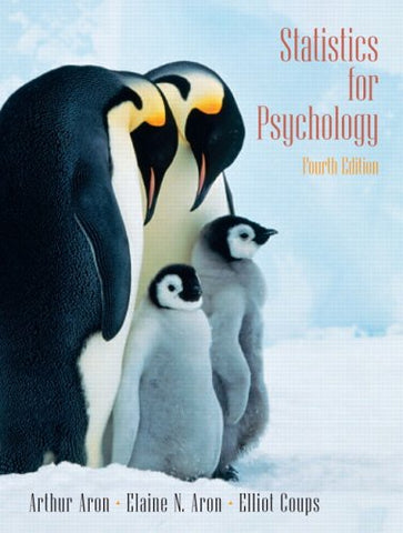 Statistics For Psychology (4Th Edition)