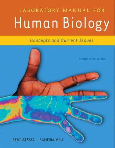 Laboratory Manual For Human Biology (4Th Edition)