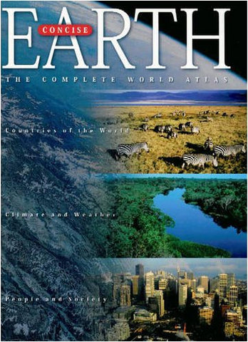 Earth: The World Atlas (Concise)