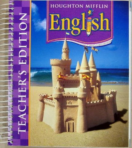 Houghton Mifflin English: Teacher'S Edition Grade 3 2006