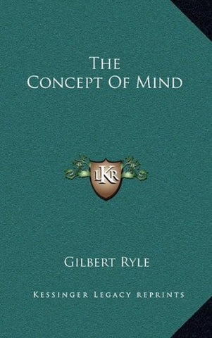 The Concept Of Mind