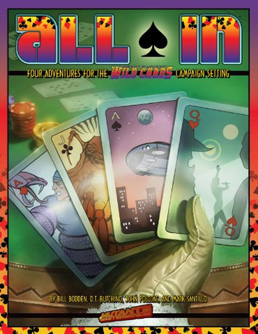 Wild Cards Rpg All In (Mutants & Masterminds Sourcebook)