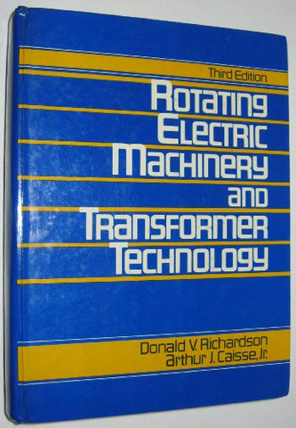 Rotating Electric Machinery And Transformer Technology