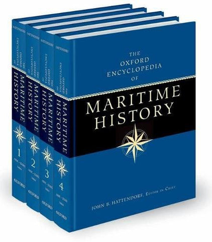 The Oxford Encyclopedia Of Maritime History (Set Of 4 Volume)