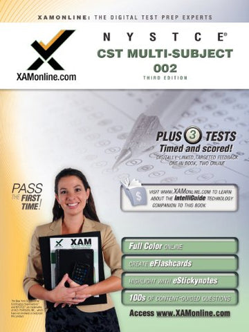 Nystce Cst Multi-Subject 002 Test Prep (Nystce (New York State Teacher Certification Exams))