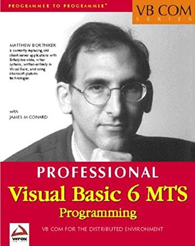 Visual Basic 6 Mts Programming (Vb Com Series)