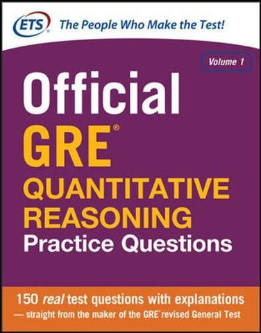 Official Gre Quantitative Reasoning Practice Questions