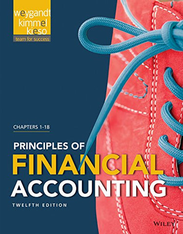 Principles Of Financial Accounting: Chapters 1 - 18
