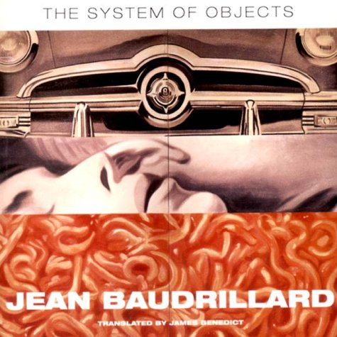 The System Of Objects (Latin American And Iberian Studies Series)