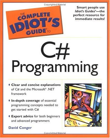 The Complete Idiot'S Guide To C# Programming