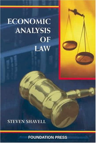 Economic Analysis Of Law (Coursebook)