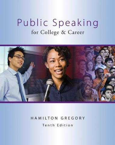 Public Speaking For College & Career With Connect Plus Public Speaking Access Card