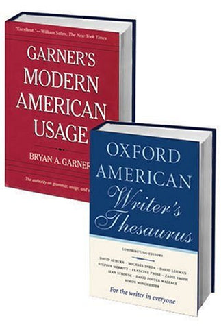 Writer'S Best Friend Pack: Consisting Of Garner'S Modern American Usage And The Oxford American Writer'S Thesaurus