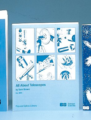 All About Telescopes (Popular Optics Library). Edmund Scientific (Es). [Paperback]