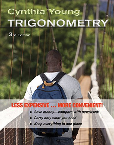 Trigonometry 3E Binder Ready Version + Wileyplus Registration Card
