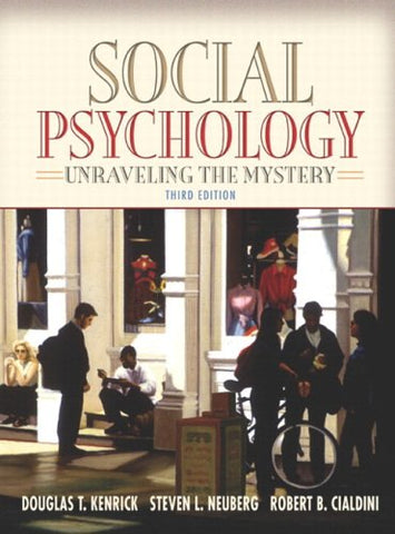 Social Psychology: Unraveling The Mystery (With Study Card) (3Rd Edition) (Mypsychlab Series)