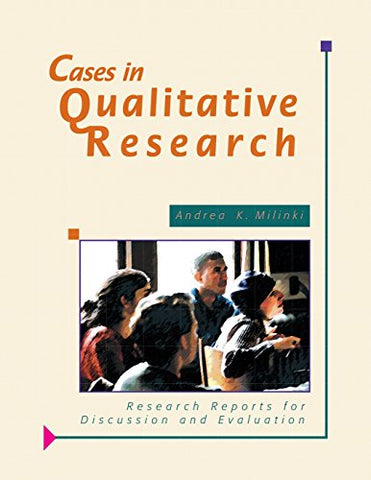 Cases In Qualitative Research: Research Reports For Discussion And Evaluation