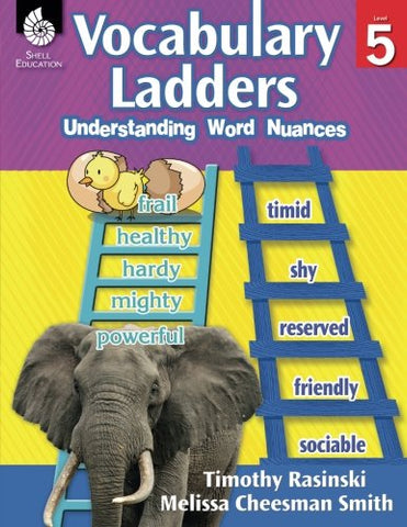 Vocabulary Ladders: Understanding Word Nuances Level 5