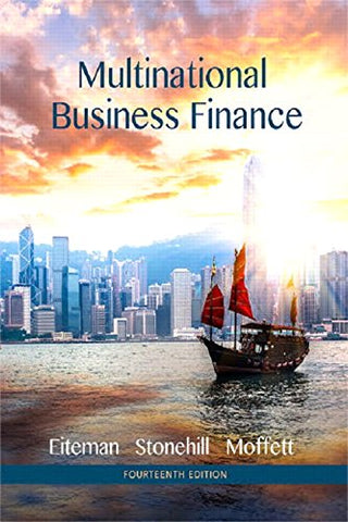 Multinational Business Finance (14Th Edition) (Pearson Series In Finance)