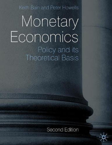 Monetary Economics: Policy And Its Theoretical Basis
