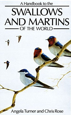 Swallows And Martins (Helm Field Guides)